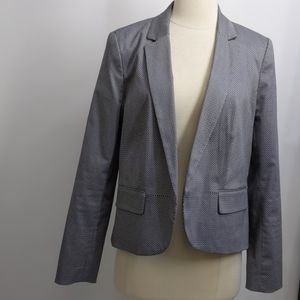 Worthington cotton-blend black/white blazer-sz 12